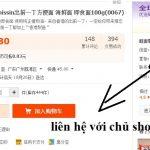 Mẫu câu chat shop Taobao – 1688 – Tự mặc cả giá sản phẩm