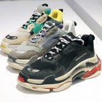 Giày balenciaga Triple S hàng auth – dòng dày đa sắc