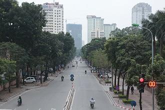Phố phường Hà Nội mồng 1 tết 2019