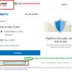 Verify tài khoản Paypal Business