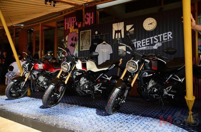Những điểm nhấn nổi bật trên Honda CB150R Streetster mới