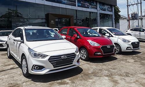 Hyundai bán xe con vượt Toyota và Trường Hải tại Việt Nam