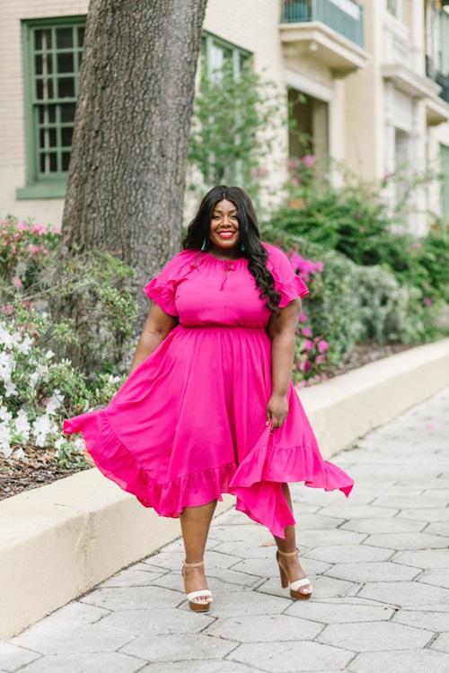 5 bí quyết thời trang sống còn cho nàng béo