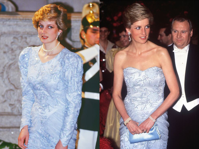 Kate Middleton đã đạt đỉnh cao tiết kiệm trang phục giống Công nương Diana, khiến dân tình phục lăn vì chế lại váy quá sức tài tình