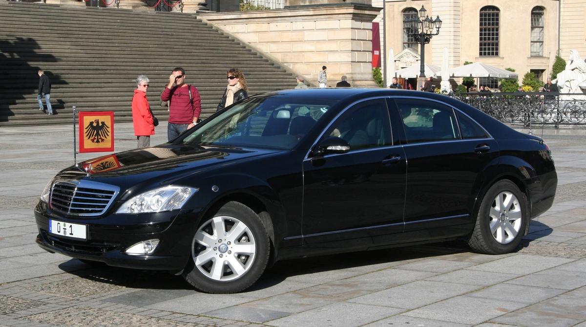 Mercedes S600 Guard - lá chắn thép của các chính khách
