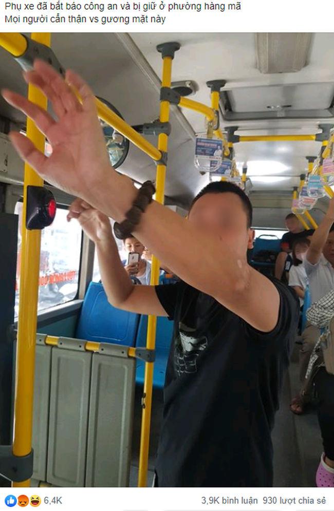 'Tự sướng' trên xe buýt ngay cạnh bé gái cấp 2, nam thanh niên khiến cộng đồng mạng ngán ngẩm