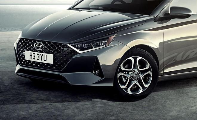 Hyundai i20 2020 có kiểu dáng như Elantra, ra mắt cuối năm