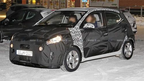 Hyundai i10 thế hệ mới ra mắt cuối tháng 8