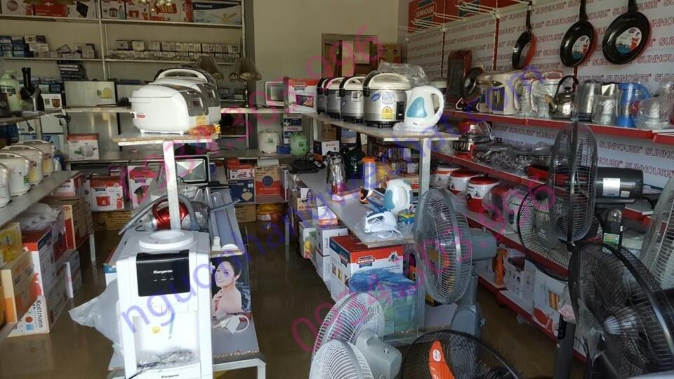 Mua hàng gia dụng thông thường ở các cửa hàng truyền thống