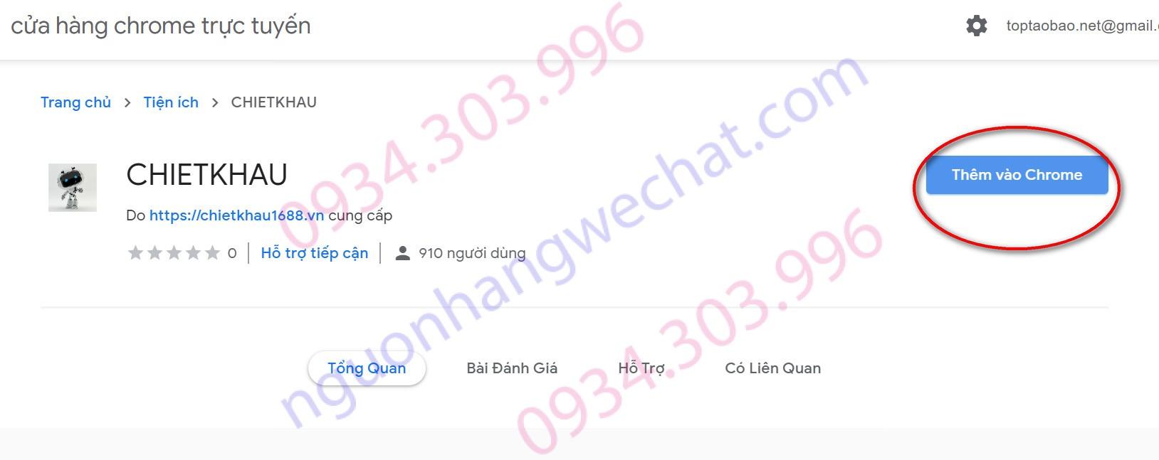 cài addon chiết khấu taobao nguonhangwechat.com